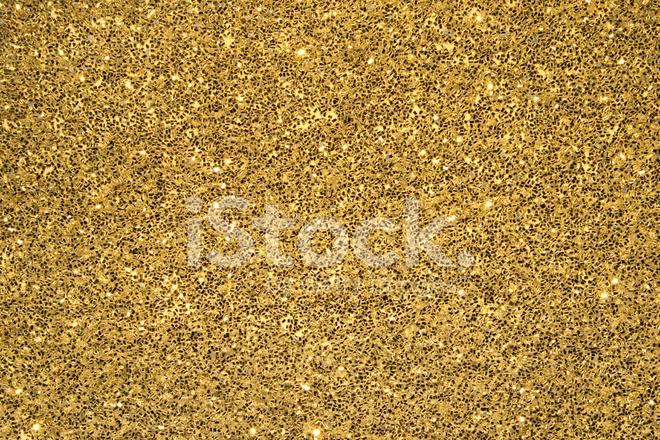 Gold Glitter Background Stock Photos