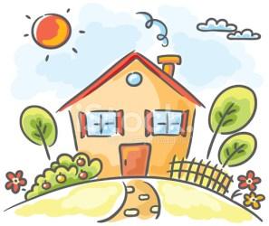 Cartoon House Stock Vector FreeImages com