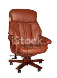 Boss Leather Armchair stock photos - FreeImages.com