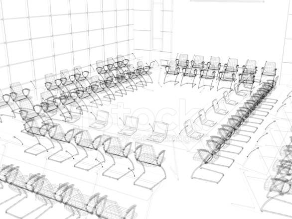 3d Sketch Architecture Modern Conference Room Classroom 3