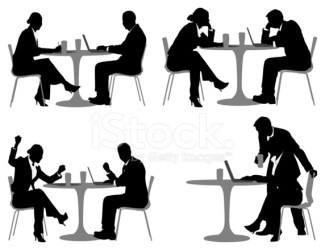 silhouette restaurant business vector executives premium freeimages istock getty