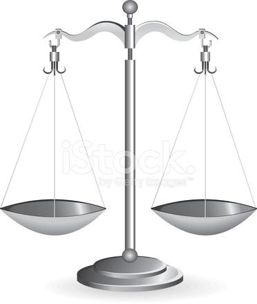 silver metal balance scale