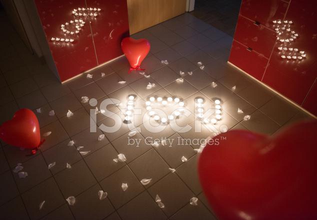 Ich Liebe Dich Kerze berraschung Valentinstag