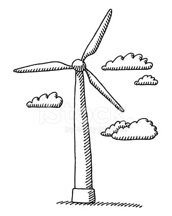 A Wind Turbine Diagram Of Modern Detailed Schematics Of