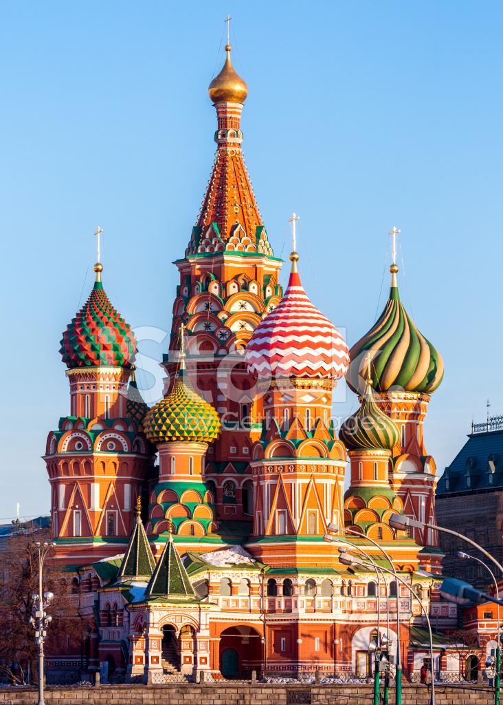 精彩圣瓦西里大教堂莫斯科 照片素材 - FreeImages.com