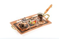 Copper Coffee Cup and Turkish Delight Stock Photos ...
