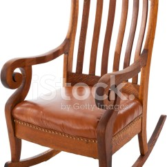 Old Fashioned Rocking Chairs Desk Connected To Chair Antique Stock Photos - Freeimages.com