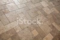Travertine Floor Marble Stone Indoor Outdoor Patio Stock ...