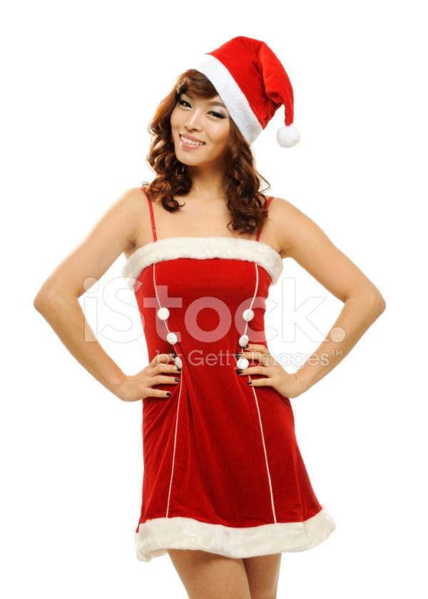 Christmas Pin UP Girl Stock Photos FreeImagescom