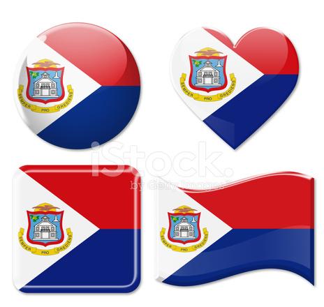 sint maarten flags icon