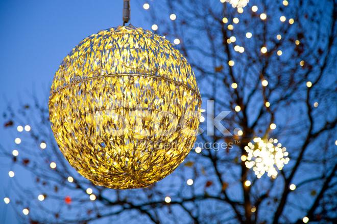 Beautiful Christmas Lantern Stock Photos