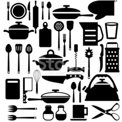 Kitchen Tool Set Wooden Sink 厨房工具 餐具矢量图标集stock Vector Freeimages Com Premium Stock Photo Of 餐具矢量图标集