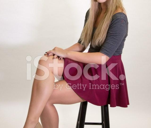 Premium Stock Photo Of Teen Female With Legs Crossed