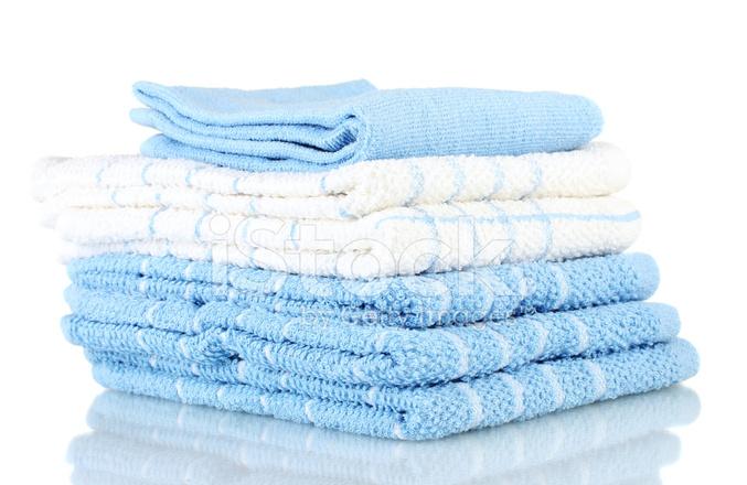 kitchen towels resurfacing cabinets 白色背景上孤立的厨房毛巾照片素材 freeimages com premium stock photo of 白色背景上孤立的厨房毛巾