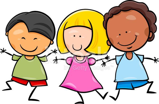 Resultado de imagen de niños de otras razas dibujos
