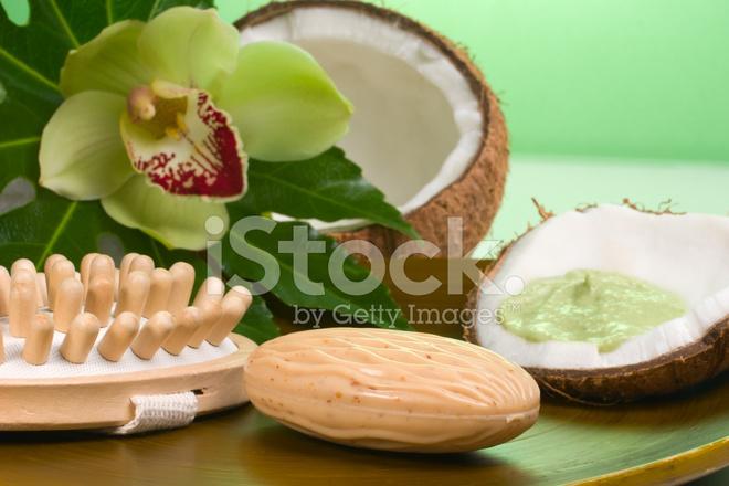 Tropical Spa Set Stock Photos - FreeImages.com