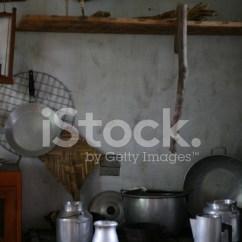 Antique Kitchen Table Black And White Towels 质朴的古董厨房照片素材 Freeimages Com Premium Stock Photo Of 质朴的古董厨房