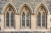 Exterior Trefoil Church Windows stock photos - FreeImages.com