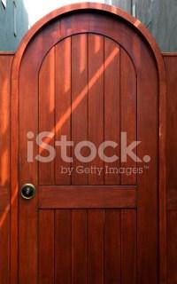 Doorway Cherry Wood stock photos - FreeImages.com