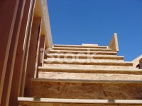 Construction of The Stairway TO Heaven stock photos ...