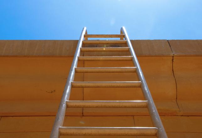梯子與天空