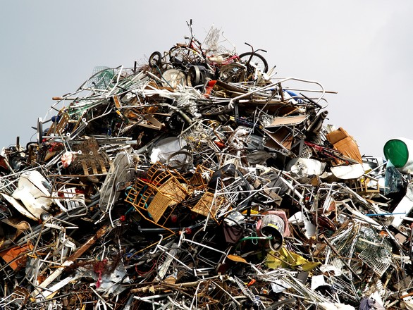 Montaña de resíduos