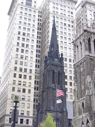 Free Pittsburgh Architecture 1 Stock Photo