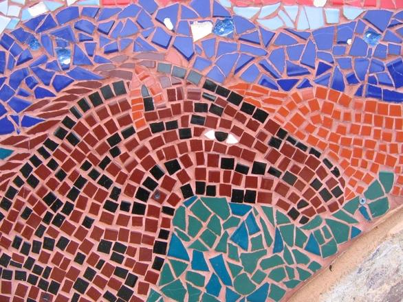 YMCA Horse Mosaic 1