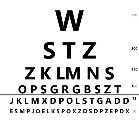 Agudeza, ciego, carta, Check, ojos, Etdrs, ojo, ojo, prueba, ojos, letras, medida, óptica, ver, visión, Visual, Visual, agudeza