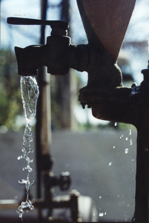 caída de agua