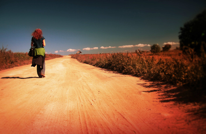 Image result for Woman walking away image free to use