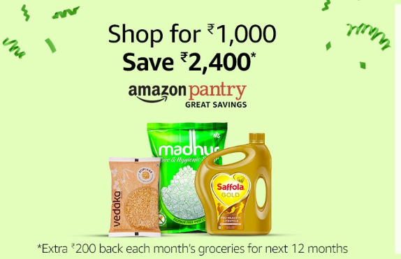 Pantry Prime Day Offer