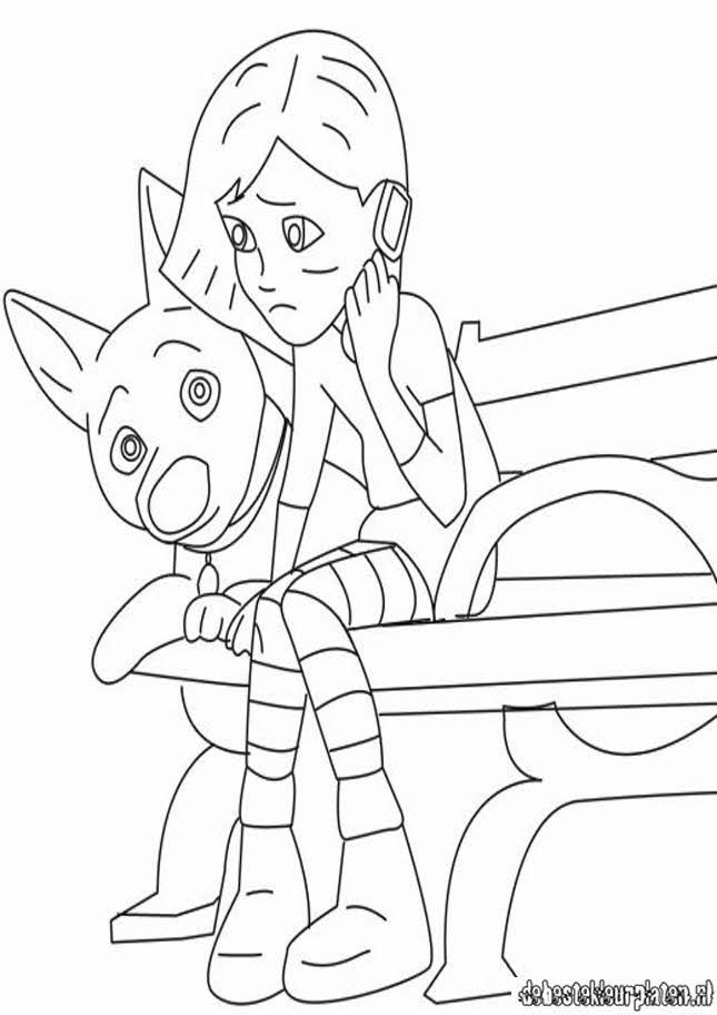 bolt3  printable coloring pages