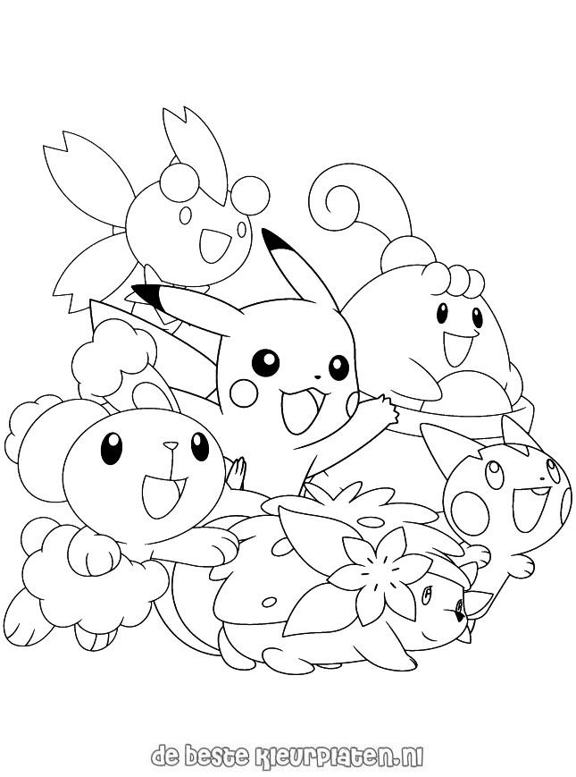1000+ images about Japanese cartoon colouring pictures on