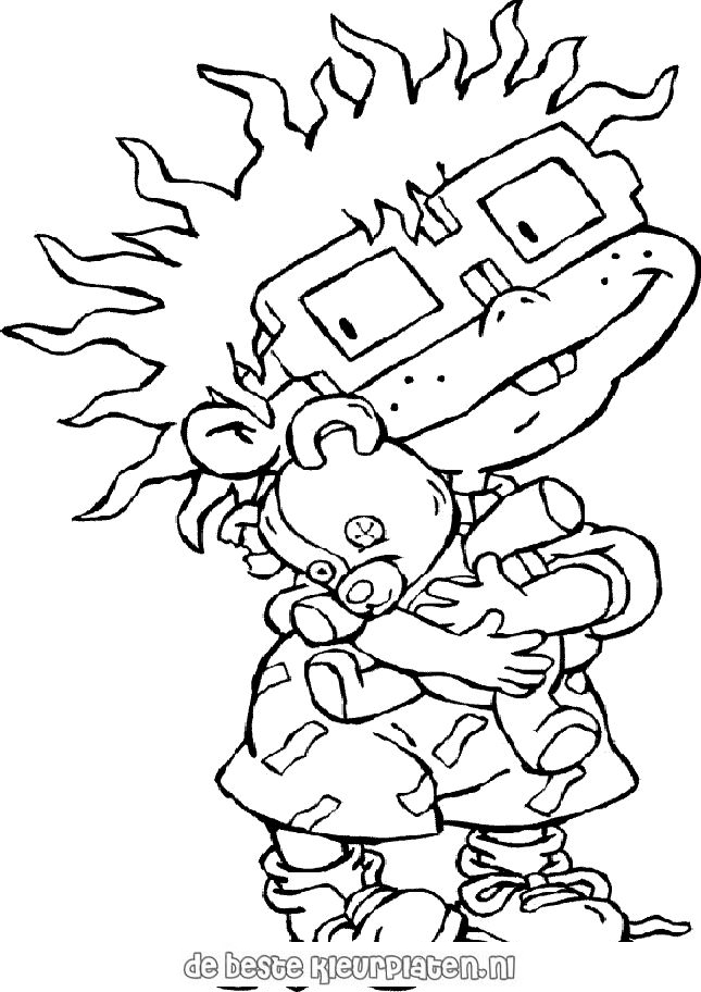 Rugrats005 Printable Coloring Pages