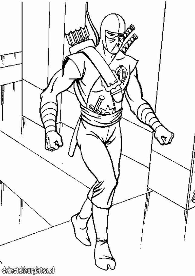 gijoe2  printable coloring pages
