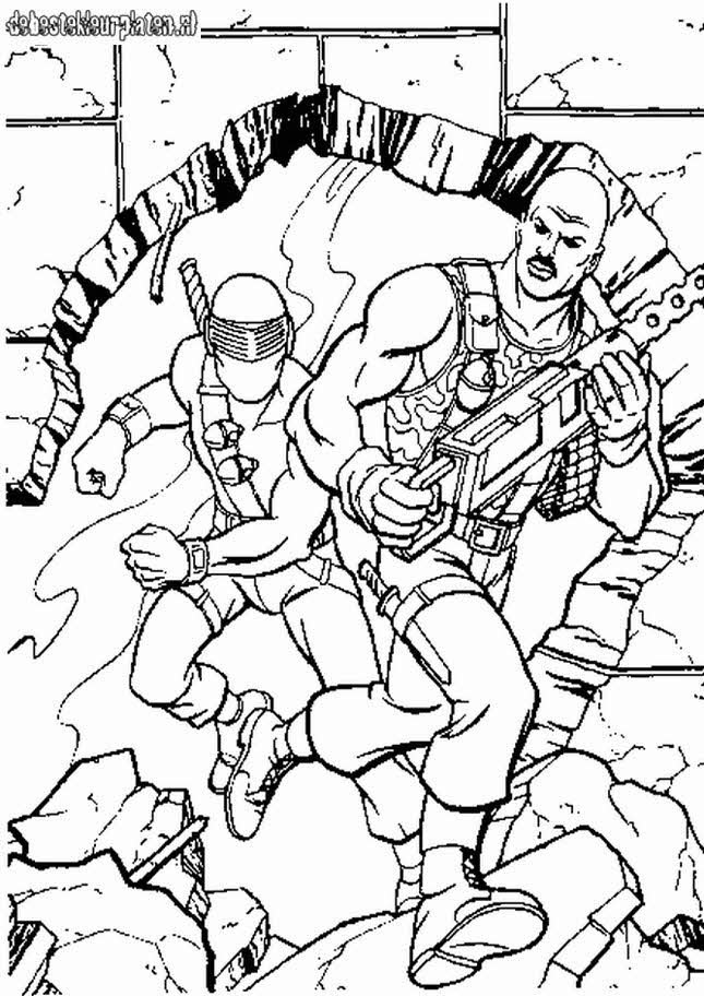 gijoe3  printable coloring pages