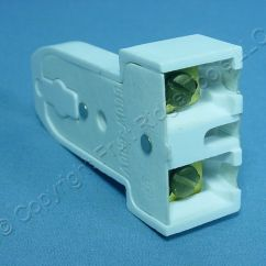 Fluorescent Light Holder 2000 Ford F250 Wiring Diagram Cooper Lamp Socket T8 T12 Medium