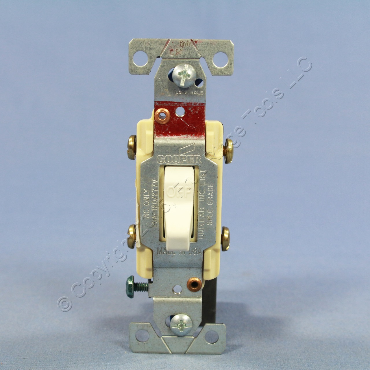 Cooper Wiring Cs220w Toggle Light Switch 20a Double White