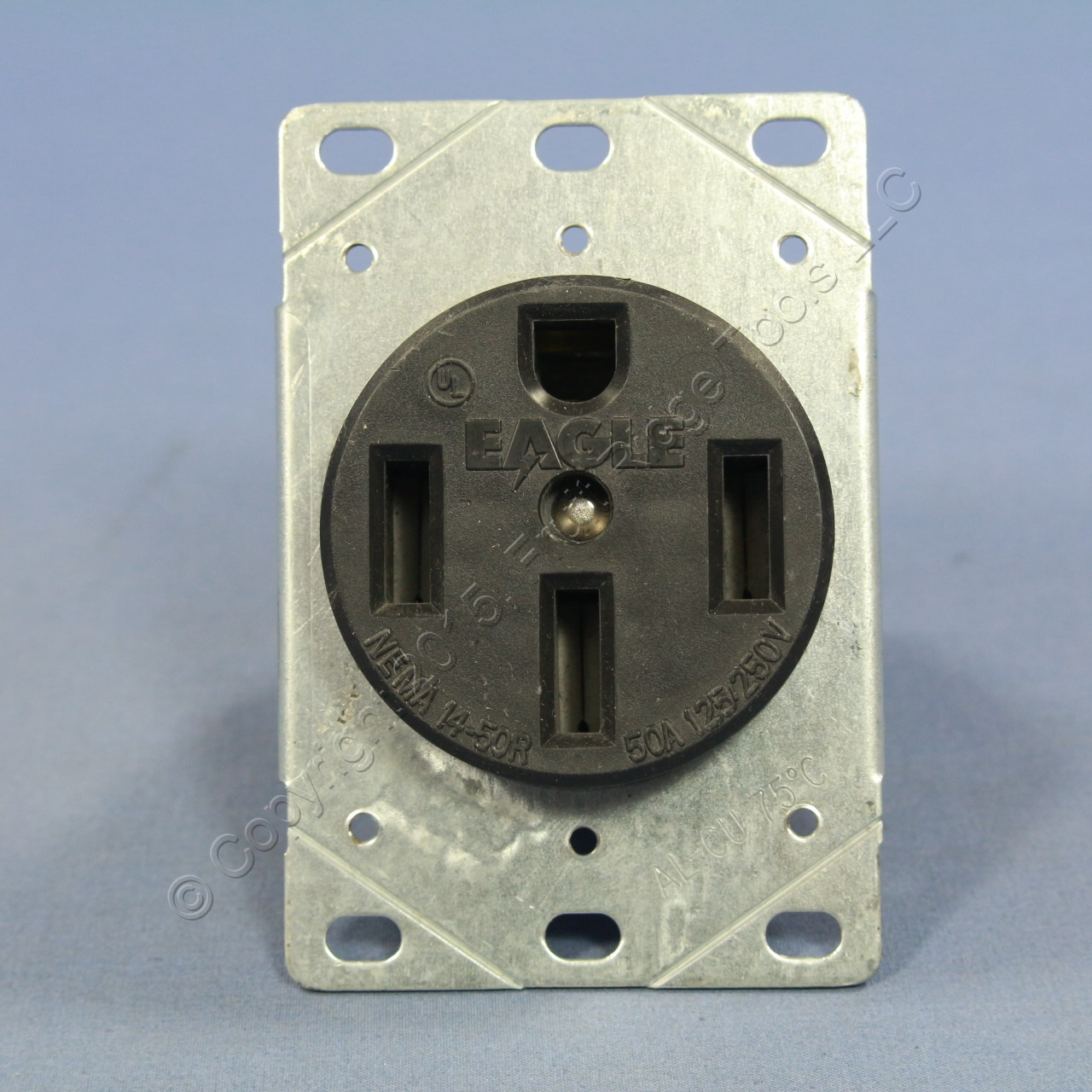 Wiring Devices Flush Mount Range Receptacle Oven Stove Outlet 50a 125