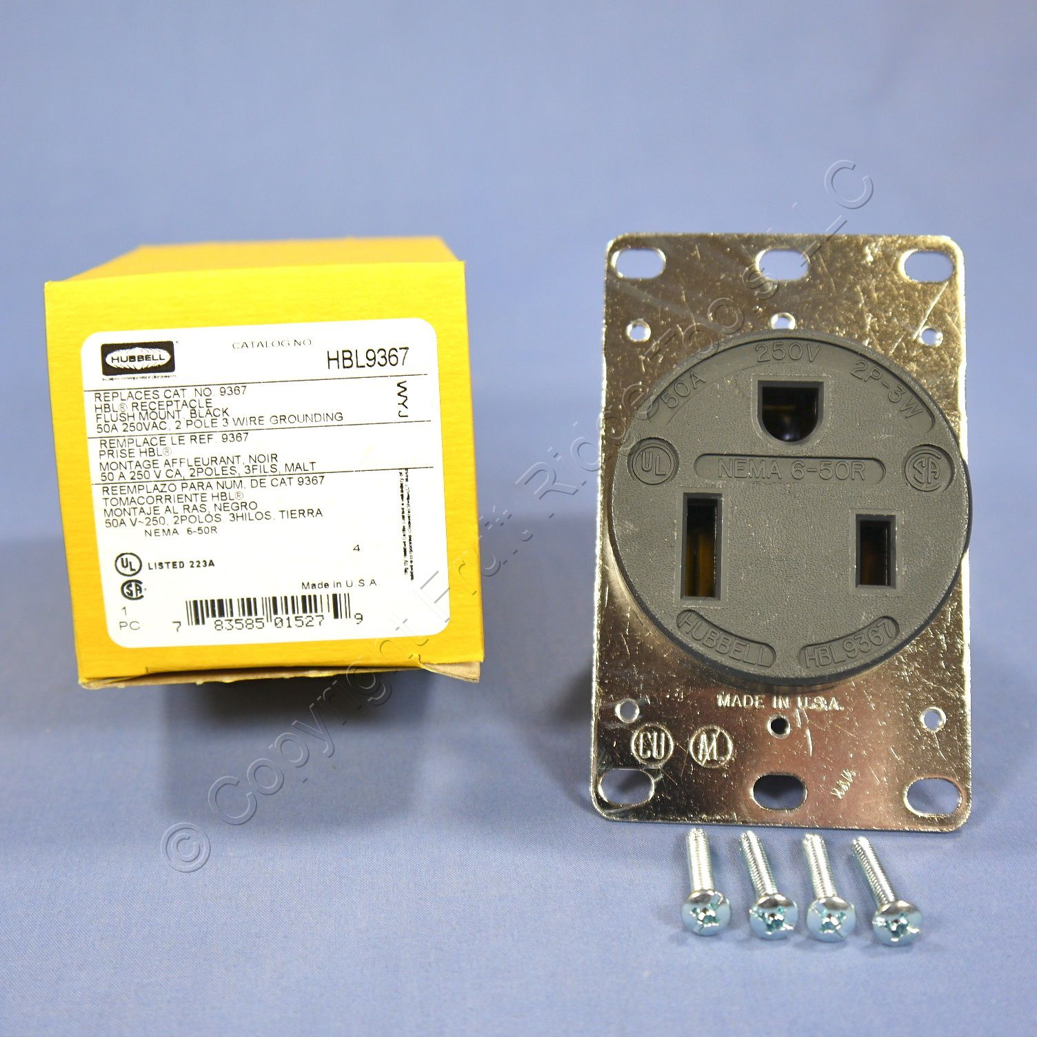 Hubbell 50a Welding Receptacle Wiring