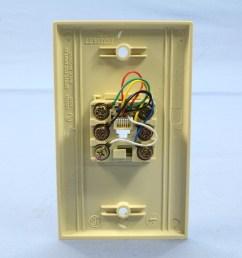 leviton ivory 6 wire modular jack telephone wall plate telephone modular jack wiring diagram telephone modular jack wiring diagram [ 3456 x 3456 Pixel ]