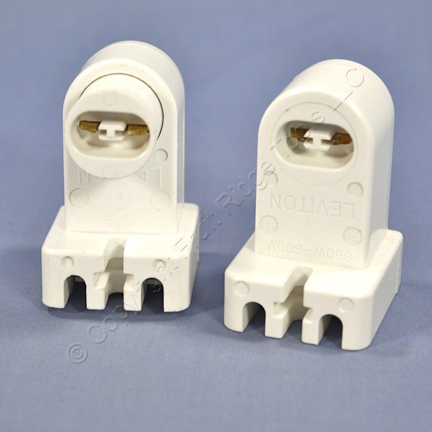 fluorescent light holder driving lights wiring diagram leviton white ho t8 t12 lamp