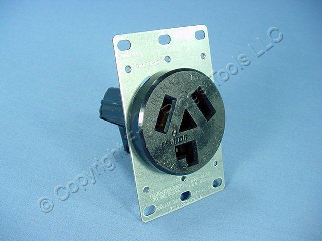 Leviton Flush Power Outlet Receptacle Dryer NEMA 10-30R