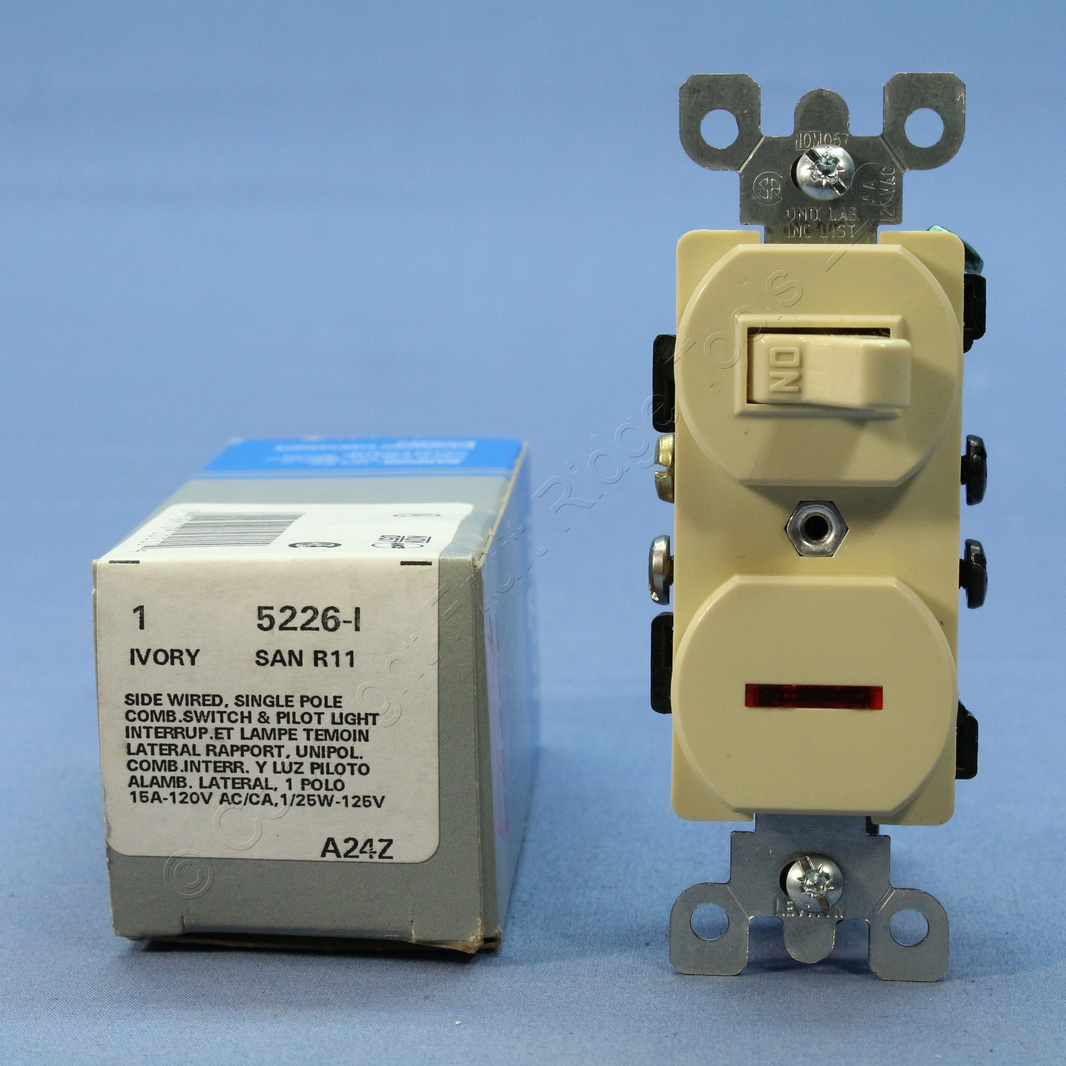 leviton 3 way switch with pilot light wiring diagram human bowel ivory commercial toggle wall 15a w