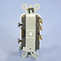 Single Polen Lumbar Nerve Root Diagram Leviton Lt Almond Double Toggle Light Switch Duplex