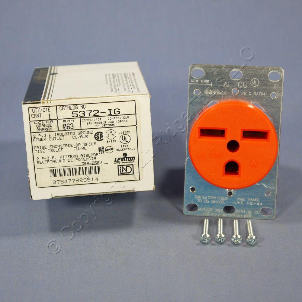 medium resolution of leviton orange isolated ground receptacle duplex outlet isolated ground wiring new leviton isolated ground receptacle outlet 6 30 30a