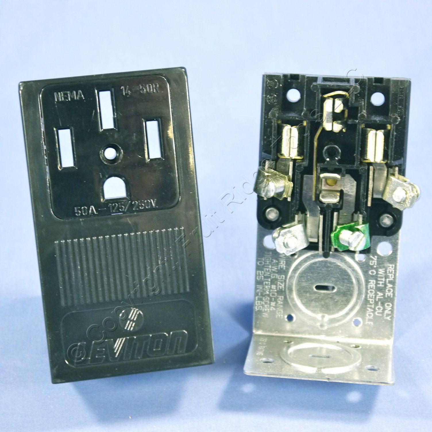 Outlet Receptacle Stove Oven 14 50 50a 125 250v Nema 14 50r 279 Ebay