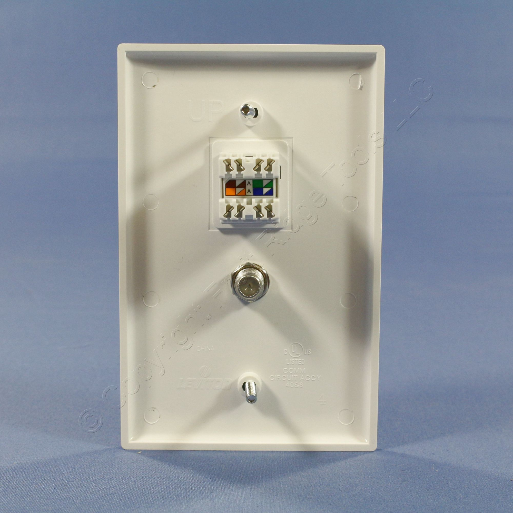 hight resolution of leviton cat 5e wall jacks moreover rj45 keystone jack wiring diagram