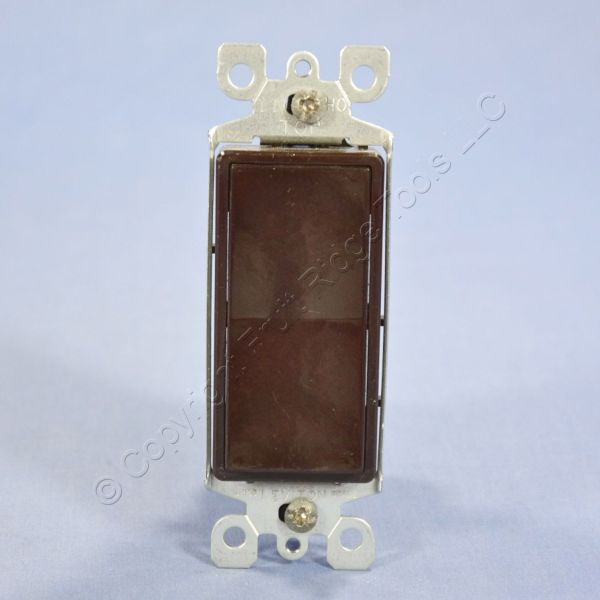 Leviton Brown Decora Dhc Multi-remote Wall Light Switch